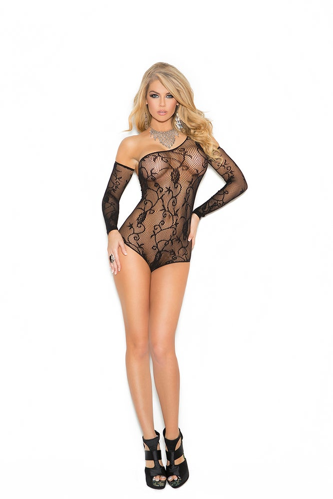 Image of Floral Pattern body suit