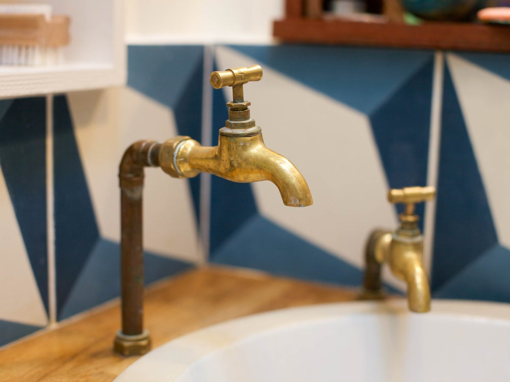 Image of Moroccan Brass Taps