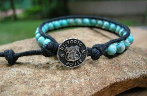 Image of Turquoise Wrap Bracelet