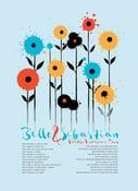 Image of Blue Belle & Sebastian 2015 Tour Poster
