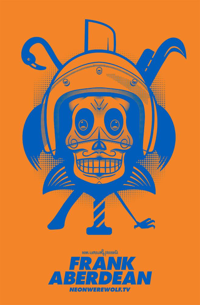 Image of Frank Aberdean - Silkscreen Print by Mike Torretta