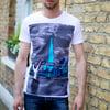 S,XL,XXL 'The Shard' t-shirt white