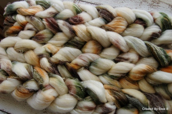 Image of Superwash Merino/Nylon/Bamboo 'Autumn Cotton' 4 oz
