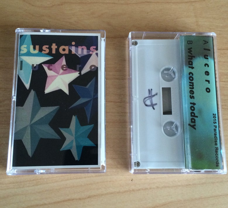 Image of SUSTAINS - Lucero Cassette Single