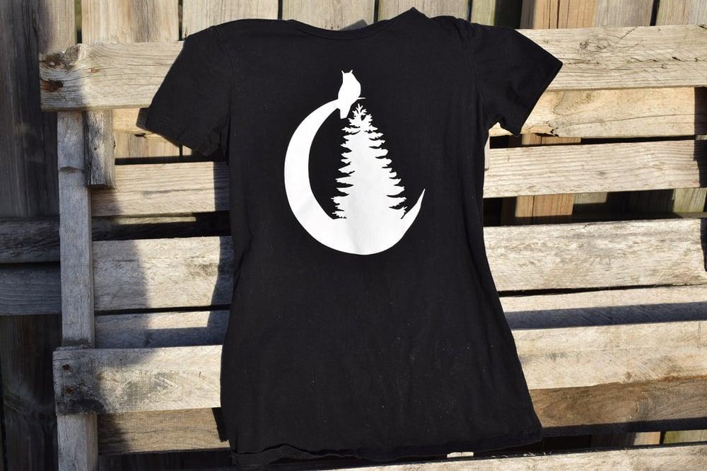 Image of Moon Logo Tshirt