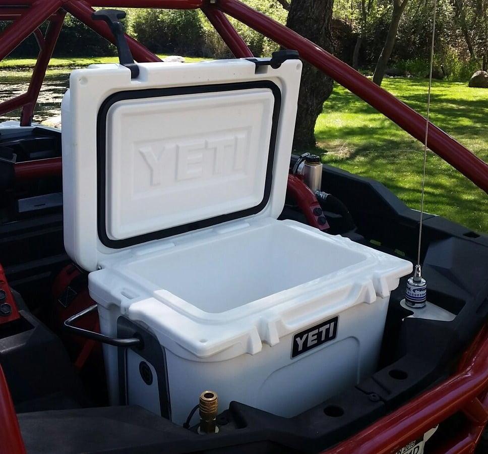 Image of UTV bed cooler mount