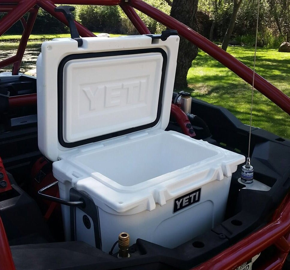 Utv Bed Cooler Mount Alpine Designs 916 877 7405