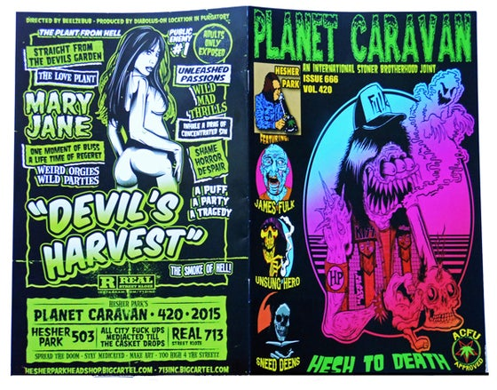 Image of PLANET CARAVAN H⚡️P ZINE
