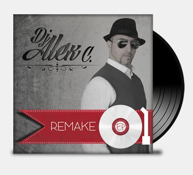 "Image of VINILE // DJ ALEX C ""REMAKE"""