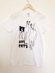 Image of Llamas Men - White (SOLD OUT-MORE COMING SOON)