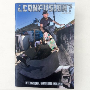 Image of Confusion Magazine - Issue #11 - Back issue