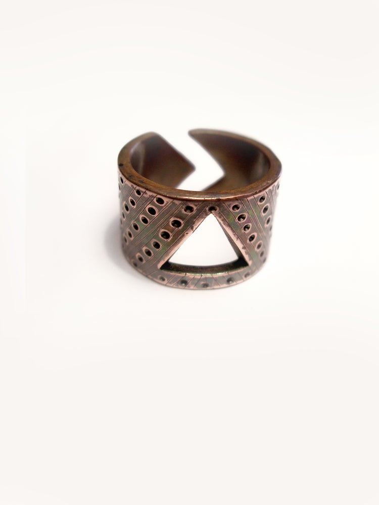 Image of BAND 15 RING: SELF ACTUALIZATION (COPPER)