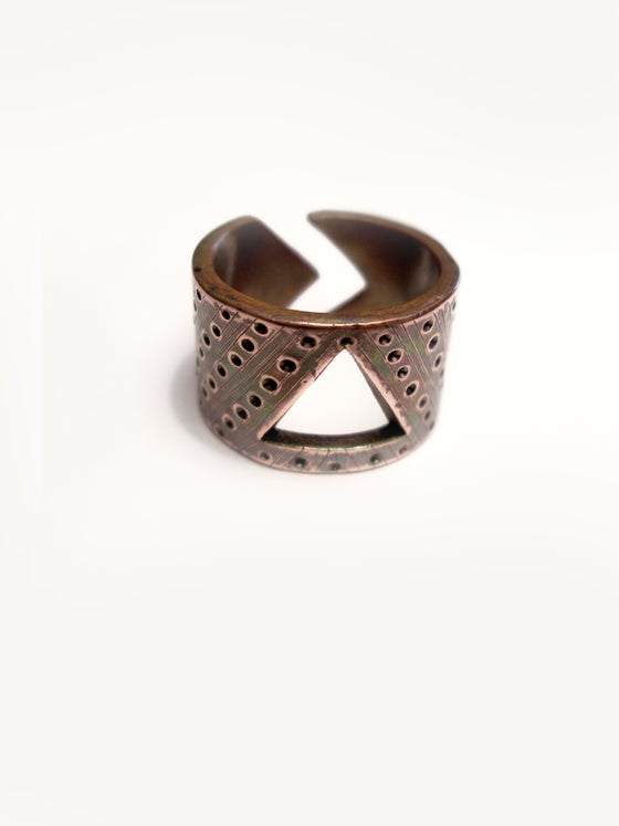 Image of BAND 15 RING: SELF ACTUALIZATION (BRASS)
