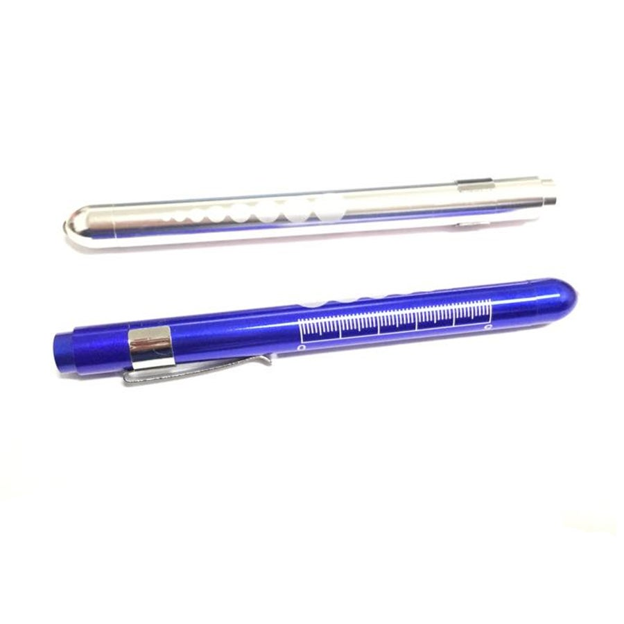 Image of Deluxe Pen Light - Blue, Black or Silver