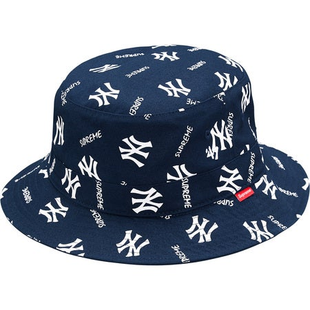 c5321614abfa closeout supreme new york yankees bucket hat 2014 3c3a3 a7d38