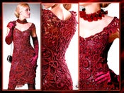 Image of Crochet Patterns eBook Irish Lace Dresses Wedding Diagram FREE SHIPPING - JMEFB
