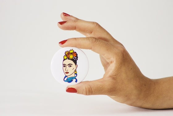 Image of Saint Frida #1 Button