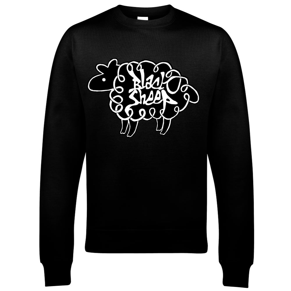 Image of KIDS' LOGO SWEATSHIRT (BLACK) - CLEARANCE SALE