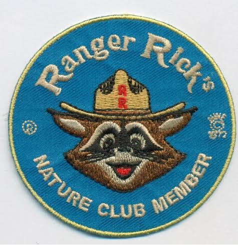 Image of Ranger Rick - Nature Club Member - embroidered patch.