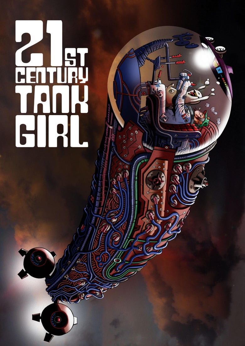 Image of 21st Century Tank Girl Book - Kickstarter Bookplate Edition with Hewlett Dust Jacket
