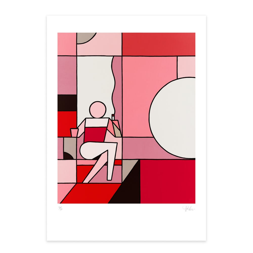 Image of 'An Evening In' - Palette 2, Giclée art print