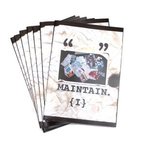 "Image of ""Maintain Zine, Chapter 1"" by Rob Dolecki"