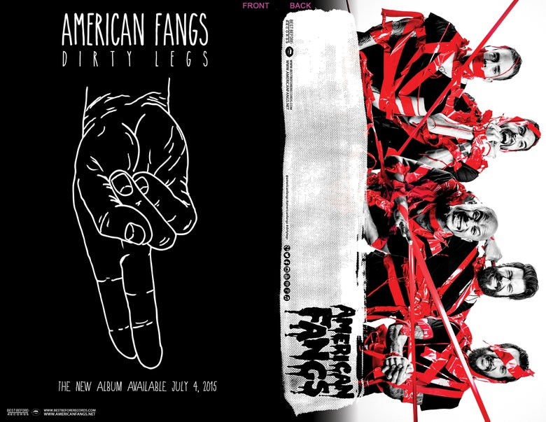 "Image of AMERICAN FANGS Glossy Print Double Sided Poster 11""X17"""