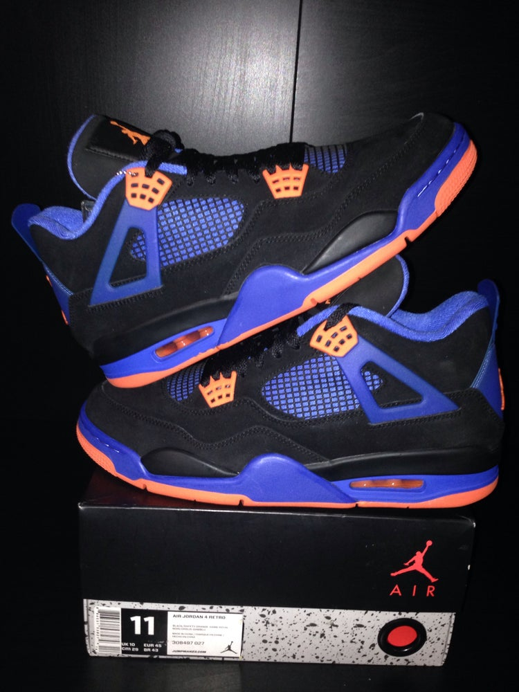 "Image of Air Jordan 4 Retro ""Cavs/Knicks"""