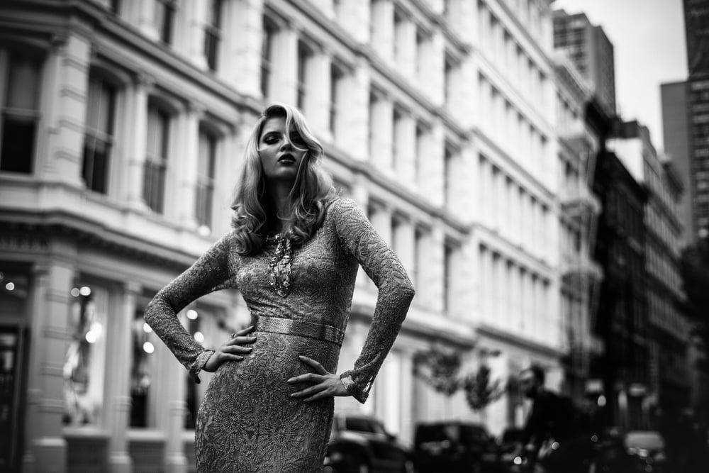 Image of Karyna in SoHo NYC 2014