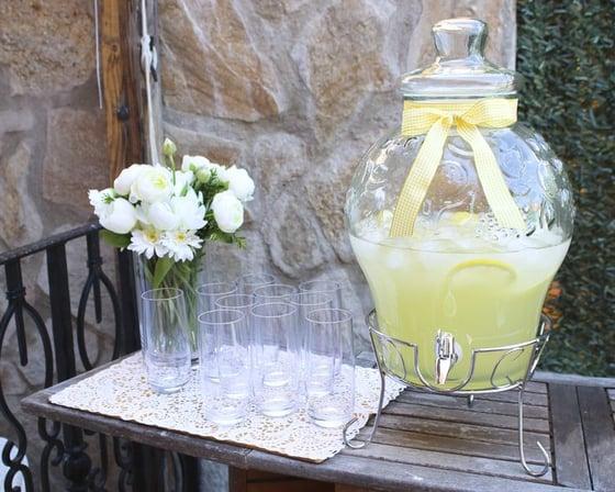 Image of DISPENSADOR DE BEBIDAS REDONDO con detalle 11 litros (Rebajado!)