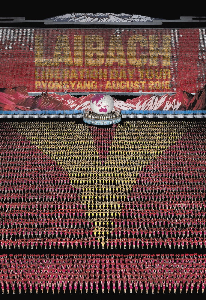 Image of LAIBACH NORTH KOREAN OFFICIAL PRINT