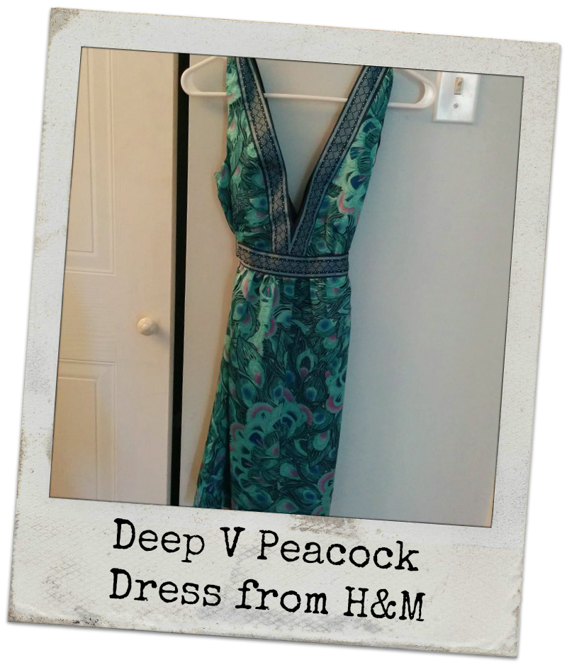 Image of Whoa! Check Out That Deep V Dress!