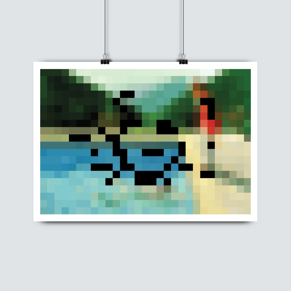 Image of David Hockney • Portrait of an Artist (Pool with Two Figures)