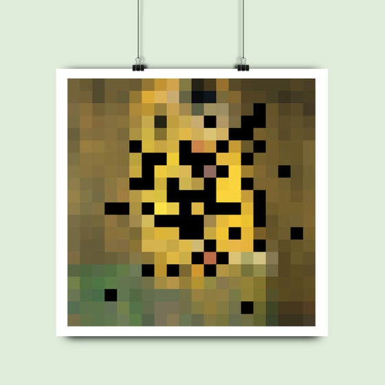 Image of Gustav Klimt • Der Kuss