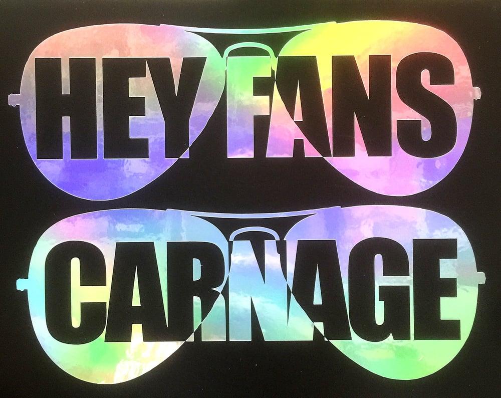 Image of CHRIS CARNAGE Die Cut Decal