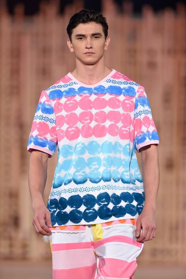 Image of Multi color Polka Top