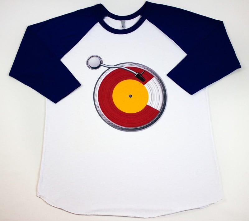 Image of CO DJ LUV - Baseball Tee