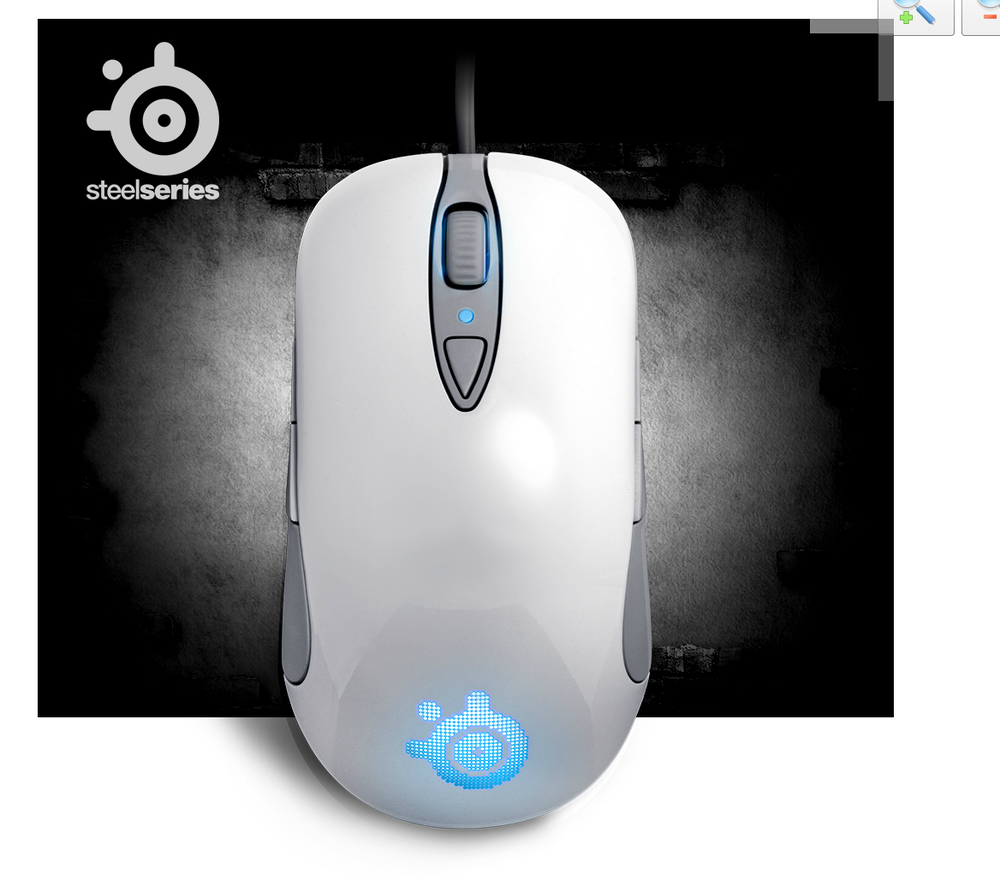 58ecca809f1 Image of New STEELSERIES SENSEI RAW FROST BLUE Professional Gaming Mouse