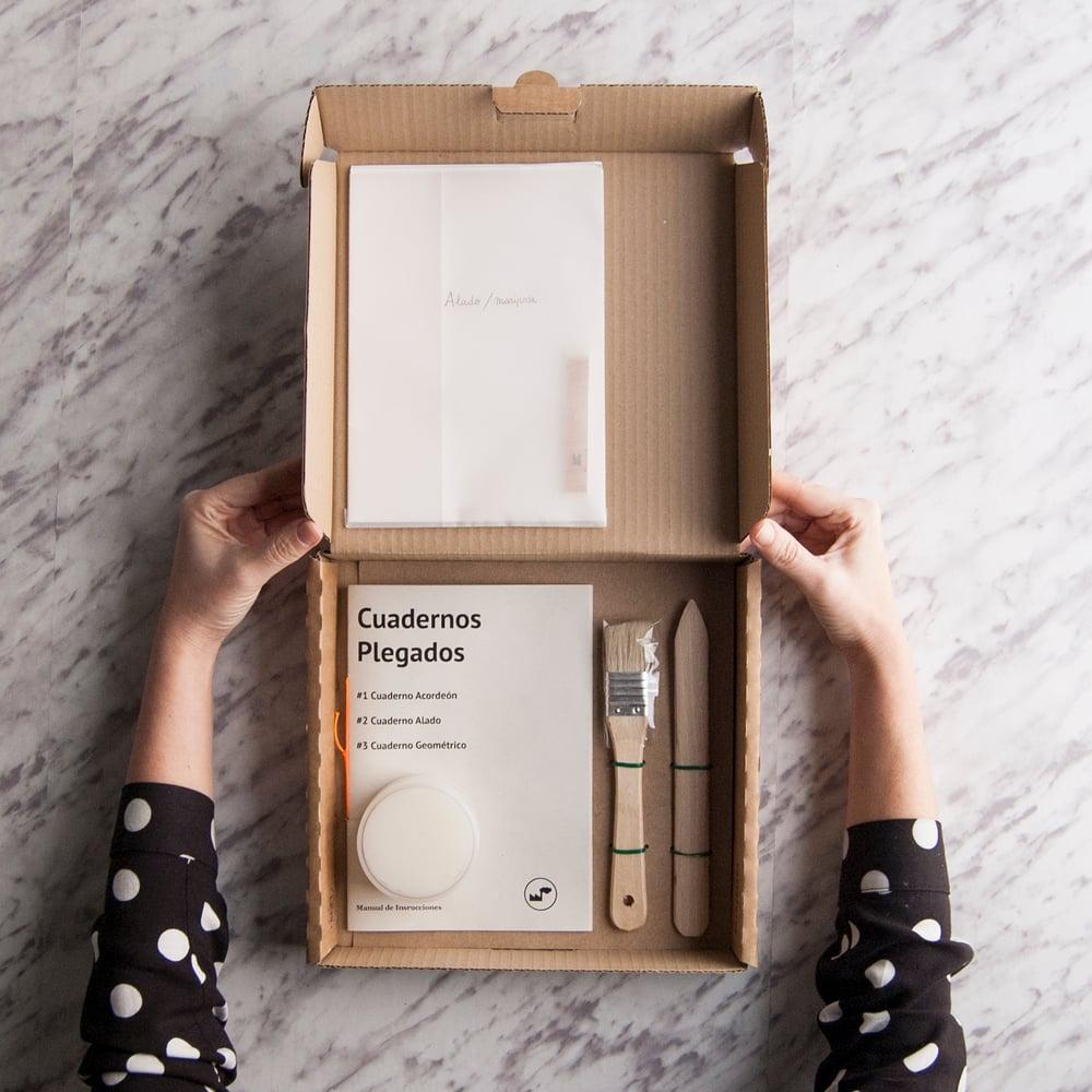 Image of DIY-kit AUTOEDICIÓN: encuadernación artística