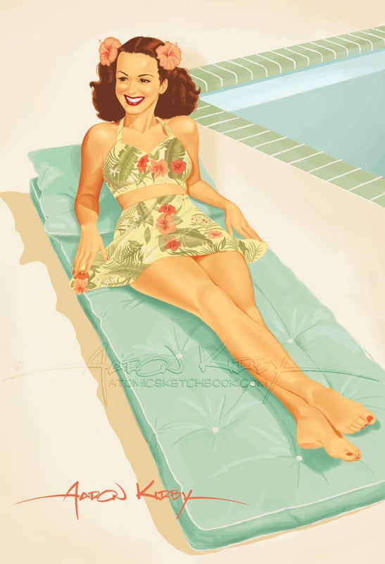 Image of Lois Lane in Hawaii
