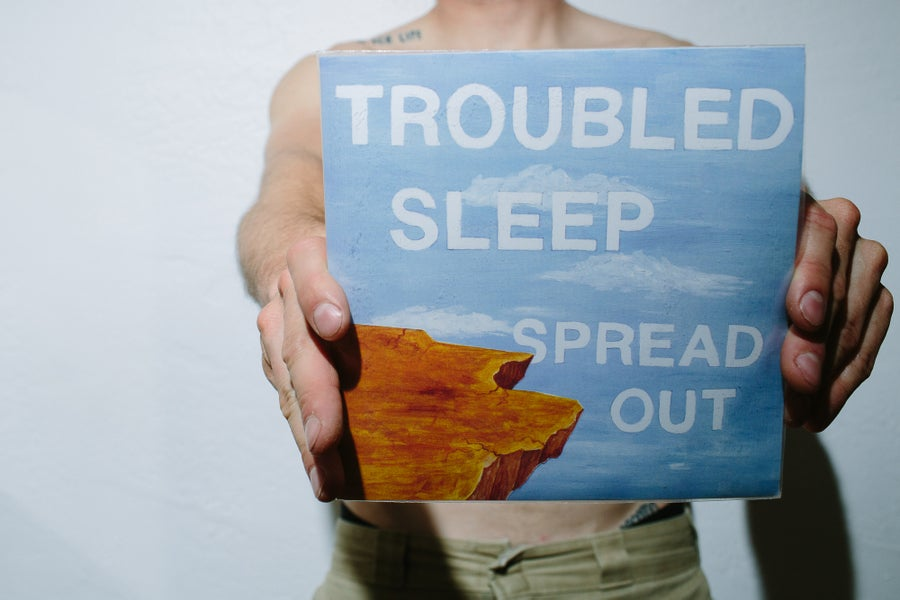 """Image of Troubled Sleep Spread Out 7"""""""