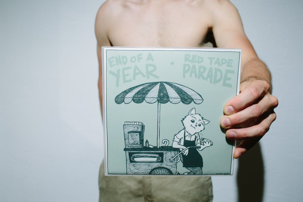 Image of Split with Red Tape Parade 7""