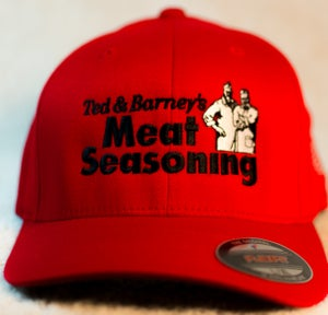 Image of H-3 Ted and Barney's Flexfit Hat in Red