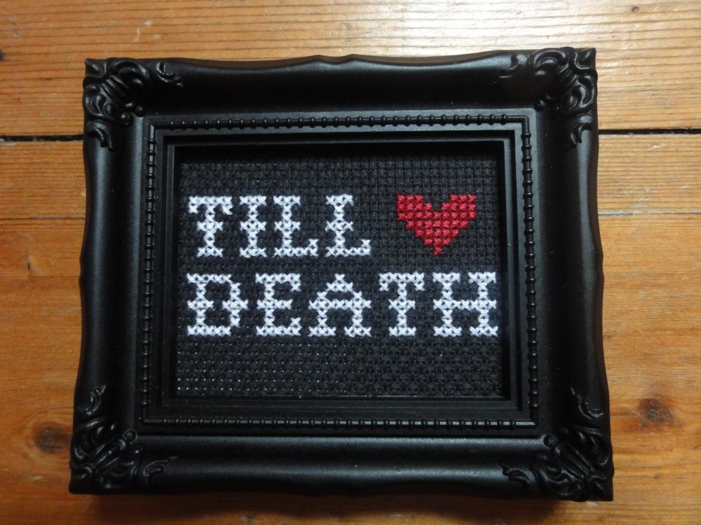 Image of Till Death Cross Stitch