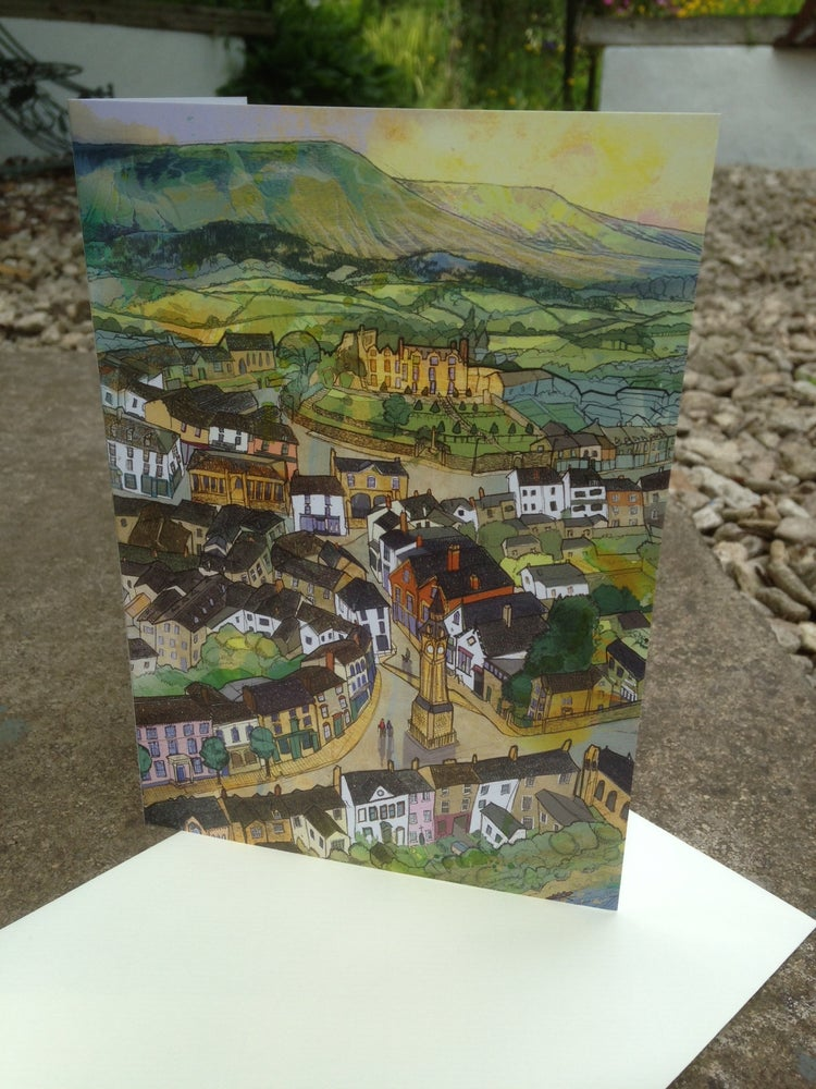 Image of Hay-On-Wye Greetings Card