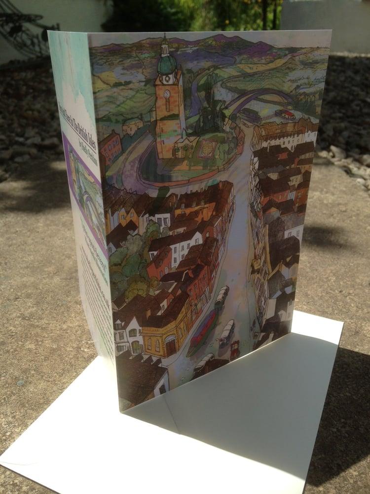 Image of Upton-Upon-Severn Greetings Card
