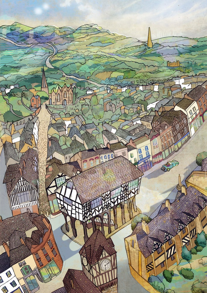 Image of Ledbury Greetings Card