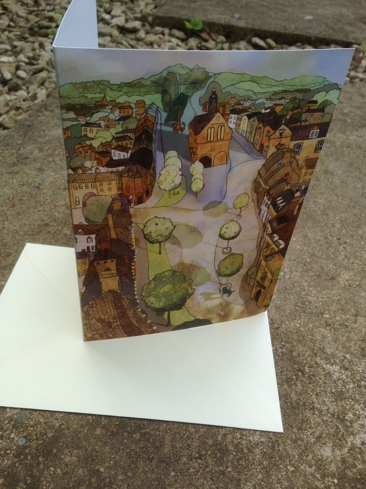 Image of Moreton-in-Marsh Greetings Card