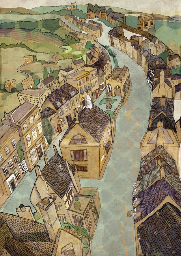Image of Chipping Campden Greetings Card