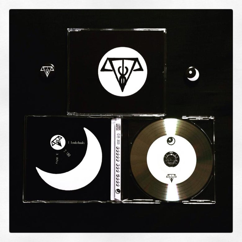 Image of Twin Mirrors - Tenderhooks EP and Badge Set